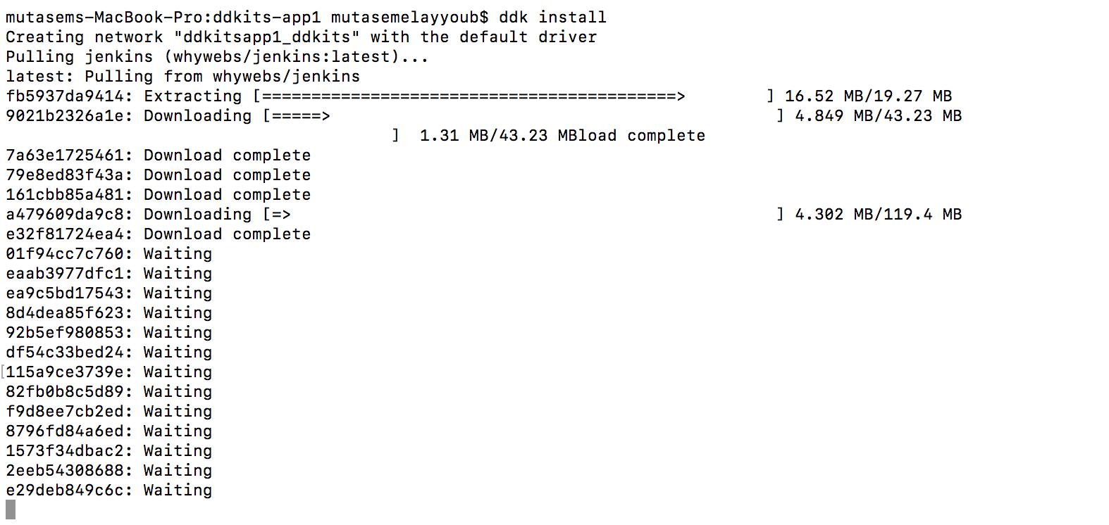 DDKits install